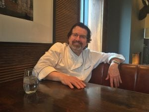 Chef Terrance Brennan at the Roundhouse (Photo by B. Cronin)