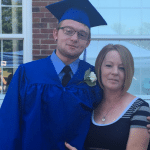 Joey Hyatt Jr. with his mother, Chrissy Smith (Photo provided)