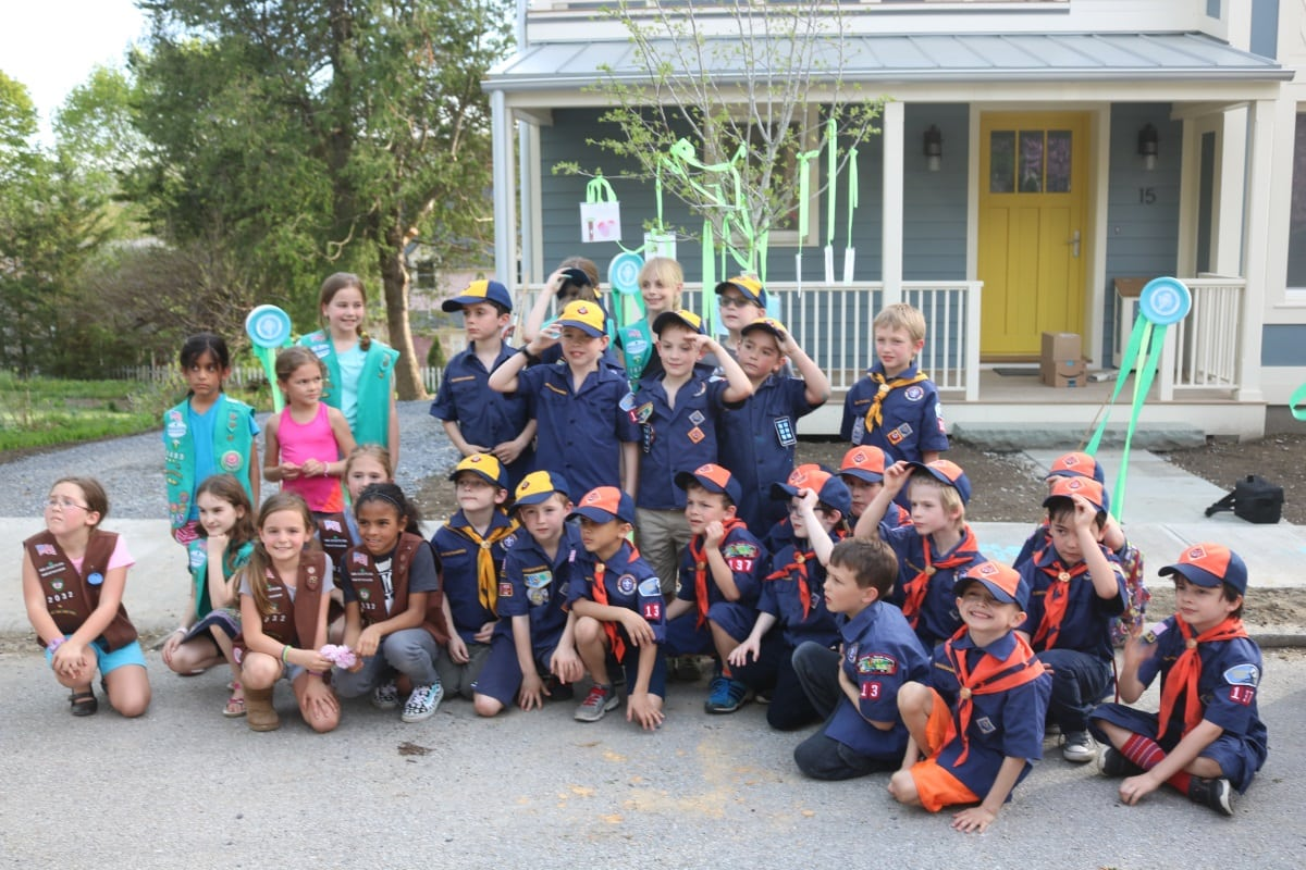 Arbor Day Scouts