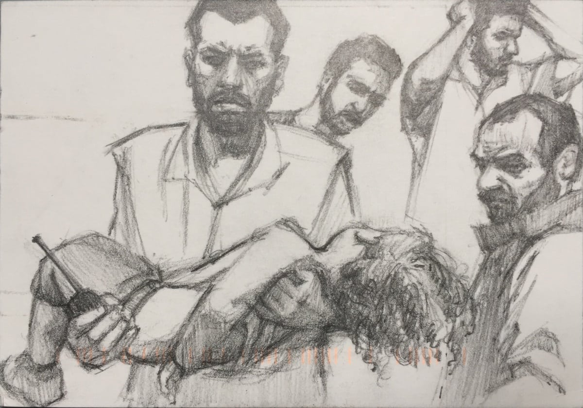 Art for Aleppo Linda Pearlman Karlsberg from Massachusetts FullSizeRender-5