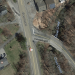 The intersection of East Mountain Road South and Route 9 (Google Maps)