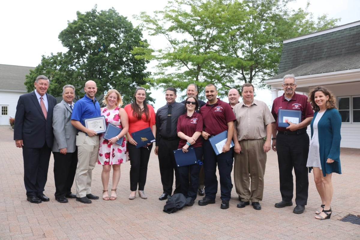 18 Garrison and Philipstown Volunteer Ambulance Members
