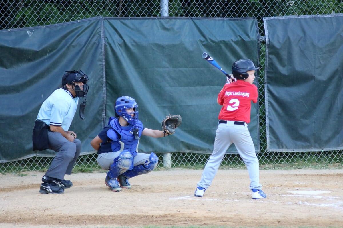 Ump catcher batter