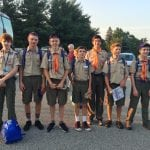 From left, Max Hadden, Leo Reis-Larson, Alek Maasik, Ethan Gunther, Guy Cervone, Dylan Gunther and Everett Campanile (Photo provided)