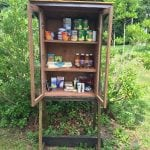 The Tiny Food Pantry outside the Beacon Recreation Center  (Photo by B. Cronin)