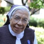 Sister Loretta Guevarra (Photo by M. Turton)