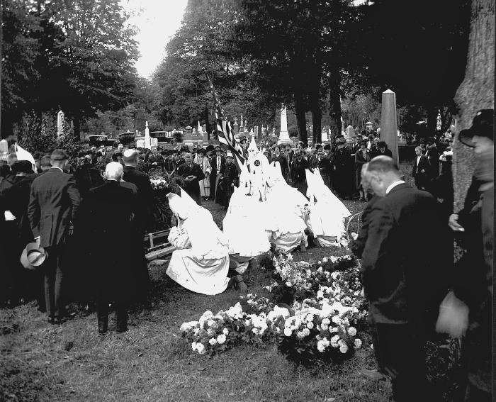 Klan funeral
