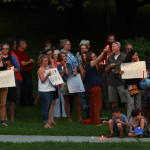 Philipstown Residents Hold Vigil