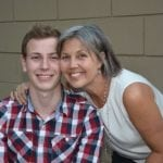 Teri Barr with her son, Max (Photo provided)