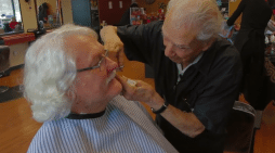 The World's Oldest Barber (Video)
