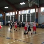 The fourth-grade boys' team plays at St. James (Photo provided)