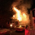 Beacon firefighters arrived on the scene at 4:46 a.m. (BFD)