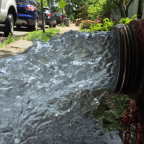 Beacon to Flush Water Mains