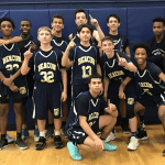 The Beacon junior varsity basketball team (Photo by L. Klein)