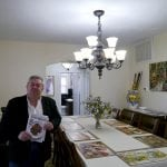 David Allis, the owner of 51 Orchard Place, inside the home	 (Photo by J. Simms)