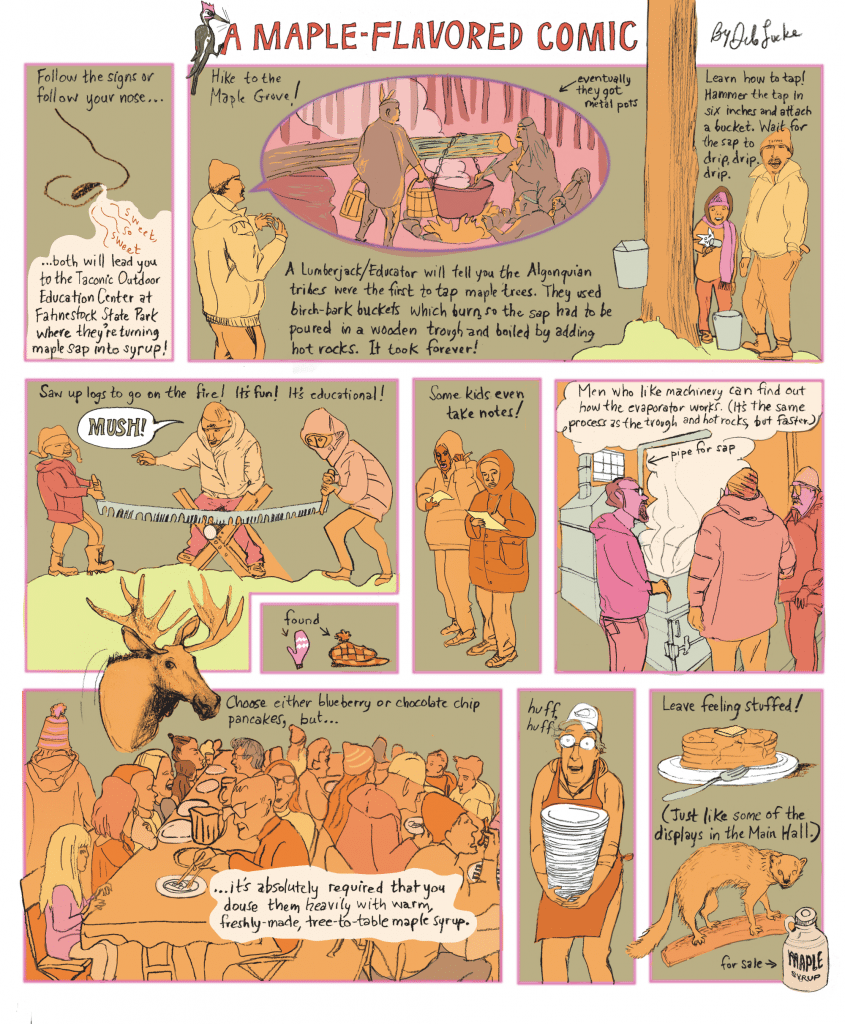 A Maple-Flavored Comic by Deb Lucke