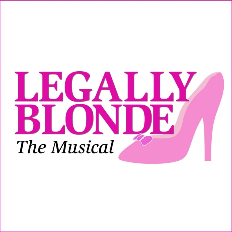 Legally Blonde The Musical Logo Garrison Studen...