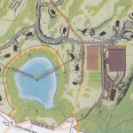 Detail from the plan for the Hudson Highlands Reserve project