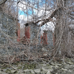 The ruins of the cider mill at Denning's Point. Don't look up. (BHS)