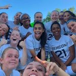 The Beacon varsity girls' soccer team won its opener, 3-1, over Brewster. (Photo provided)