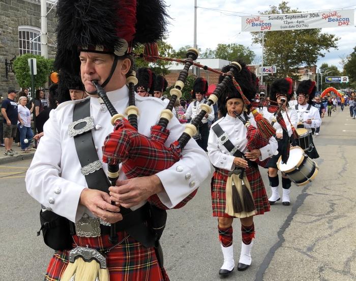 Amerscot Highland Pipe Band_SpiritofBeacon2018_credit_Cindy Gould