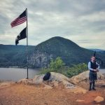 Mile 7.5 of last month's Breakneck Ridge Trail Marathon (Photo by B. Cronin)