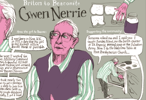 Briton to Beaconite: Gwen Nerrie