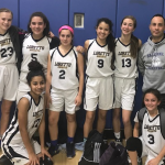 The eighth-grade girls' team with Coach Anthony Pezzullo (Photo provided)