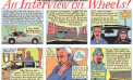 An Interview on Wheels!