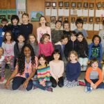 Garrison School second-graders are shown with their teacher, Marjorie Guigliano
