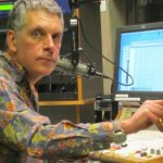 Marc Breslav at WVKR in 2014 (Photo by Arlene Seymour)