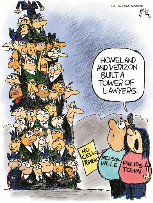 Cell tower cartoon