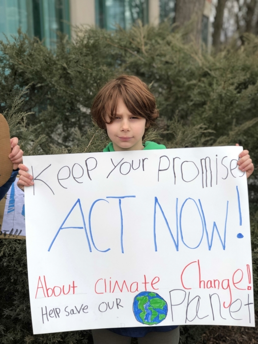4th and 5th Graders Strike for Climate6