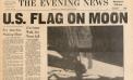 U.S. Flag on Moon