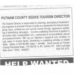Putnam Visitors' Bureau Disappears (Updated)
