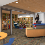 Library Prepares for Cramped Quarters