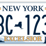 """Excelsior"" License Plate Wins"