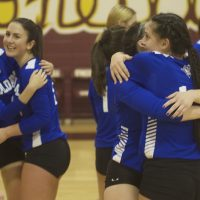 Haldane Volleyball in Final Four