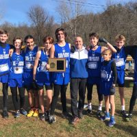 Haldane Cross-Country Teams Win Section