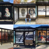 A Rider's Guide to Beacon's Bus-Shelter Art