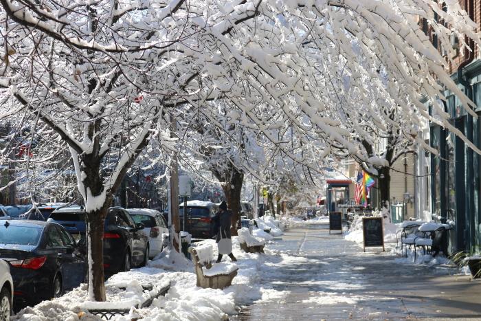 Main St Winter