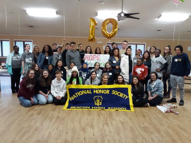 Project HOPE 2019 Beacon HS VOLUNTEERS