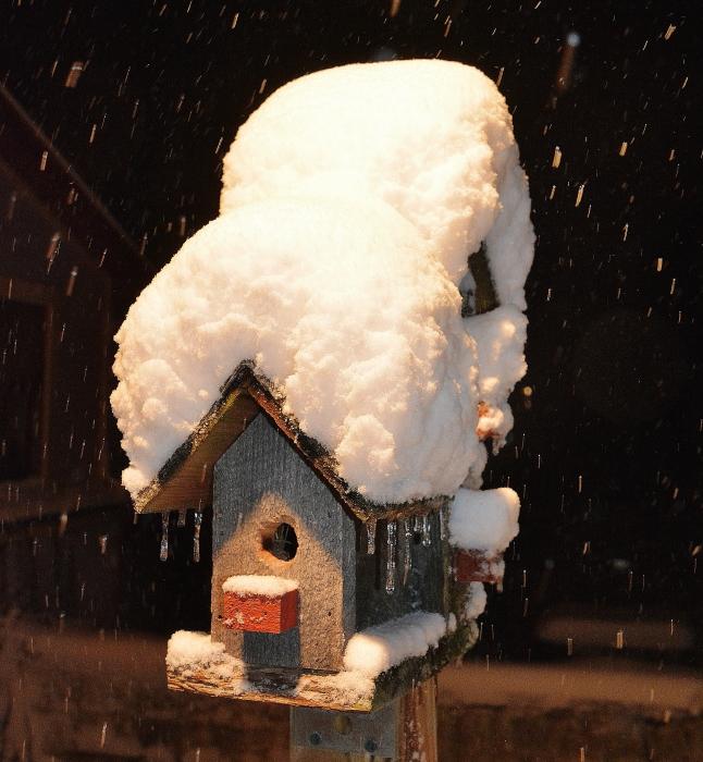 Snowy house-B