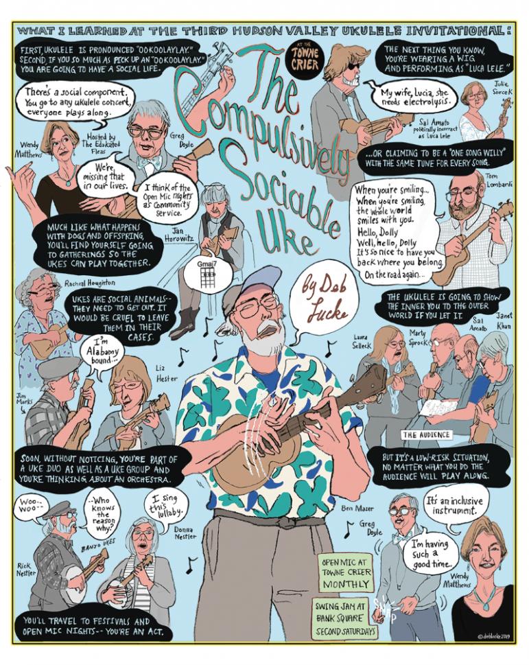Compulsively Sociable Uke by Deb Lucke