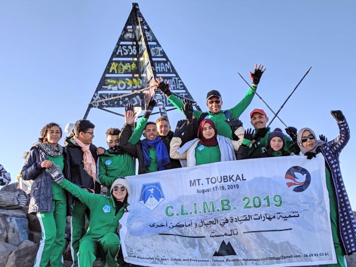 climb to summit