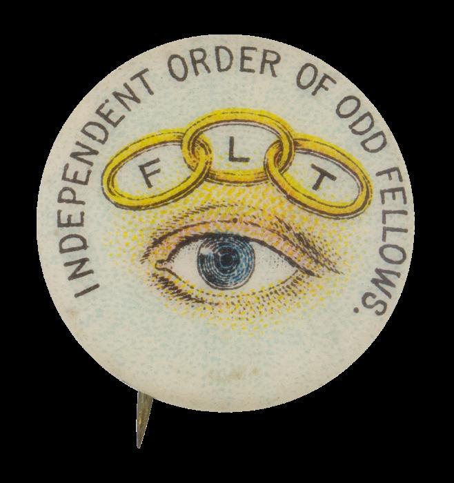 An Odd Fellows pin