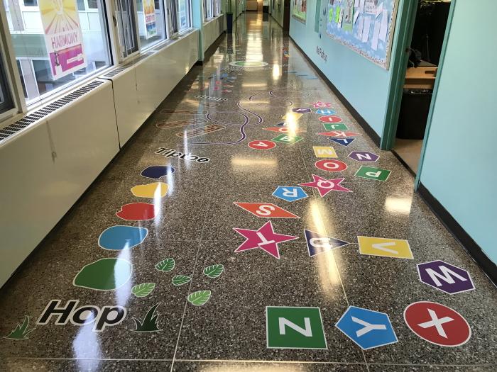 indoor pathway