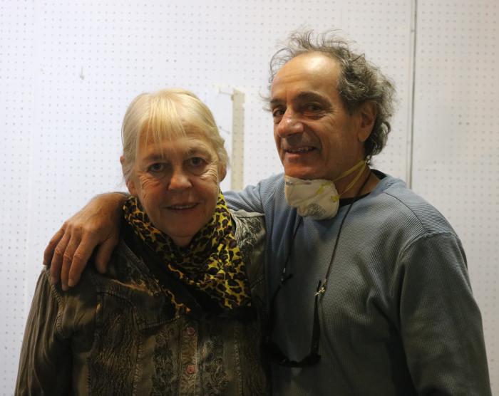 Ellen Hayden and Gary Arceri