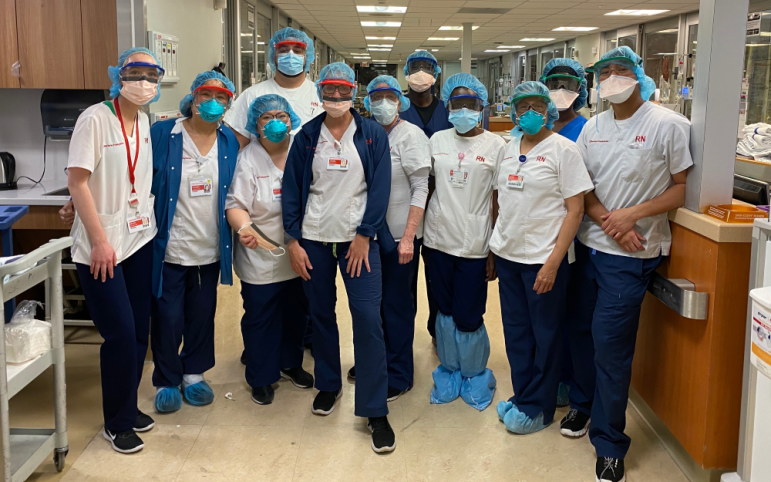 infirmières d'équipement haldane