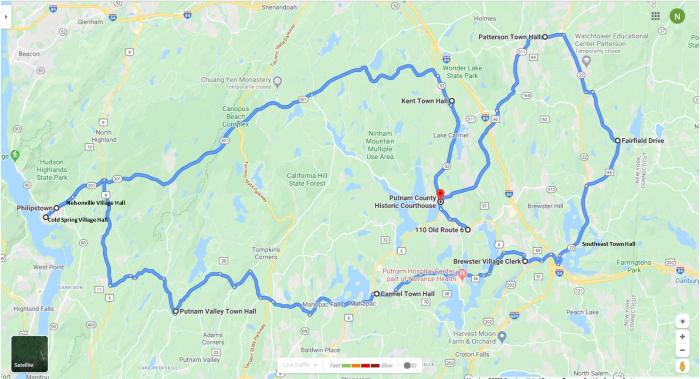 putnam-route